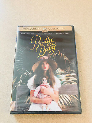 Pretty Baby DVD - Brooke Shields Susan Sarandon Sealed New Out Of Print Rare HTF
