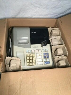 Casio Electronic Cash Register PCR-265P With 2 Sets of Keys Works Great!