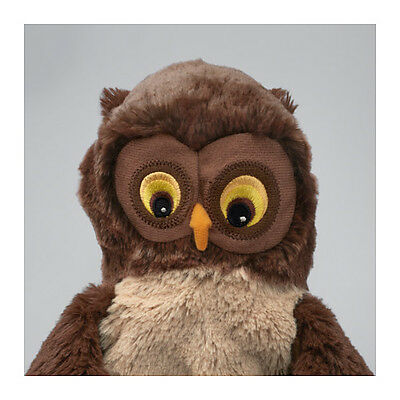 IKEA Glove Puppet Brown Owl Fun Soft Toy Kids Play time Brand New