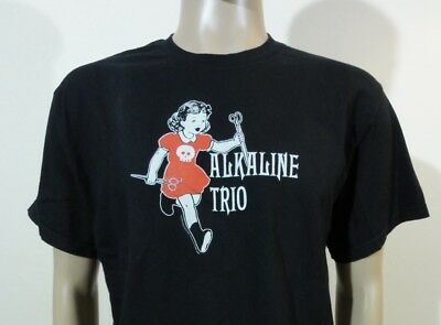 Rare Vintage 2004 Alkaline Trio Concert Band Tour Shirt From Here to Infirmary