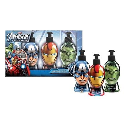 Set 3 jabones manos Vengadores Marvel