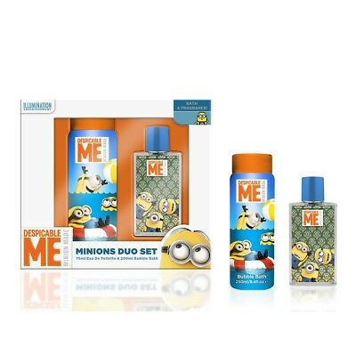 Set colonia 75ml + gel baño 250ml Minions