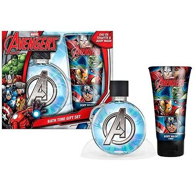 Set colonia gel baño Vengadores Avengers Marvel Asemble