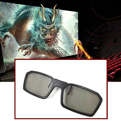 Clip On Type Passive Circular Polarized Clip 3D Glasses Make Eyes See 3D Effect