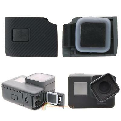 Replacement Side Door USB-C Micro-HDMI Port Side Cover for GoPro Hero 5 Black