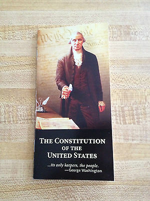 United States Pocket Constitution & Declaration Of Independence Brand New