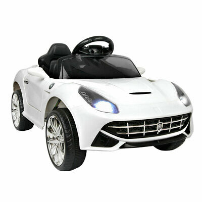 Kids Ride-On Car Ferrari F12 inspired Sport Electric Toys Battery Remote 12V WH