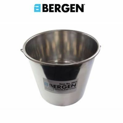 BERGEN 12 Litre Stainless Steel Bucket 2865