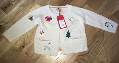 Next Cardigan New With Tags 18-24 Months Christmas