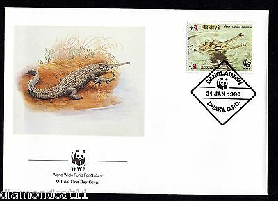 1990 FDC 31/1/90 Endangered Wildlife SG341 FINE USED  R27513
