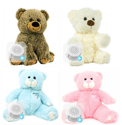 "Baby Heartbeat Bear 10"" 25cm Record baby's heartbeat at scan pregnancy keepsake"