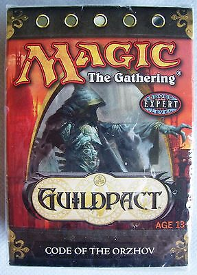 Magic The Gathering MTG GUILDPACT Theme Deck CODE OF THE ORZHOV - New & Sealed