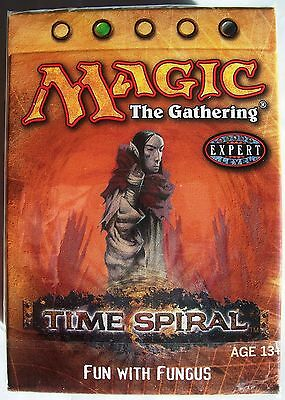 Magic The Gathering MTG TIME SPIRAL Theme Deck FUN WITH FUNGUS - New & Sealed