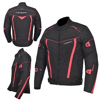 Motorbike Motorcycle Jacket  Textile Cordura CE approved Armour Waterproof