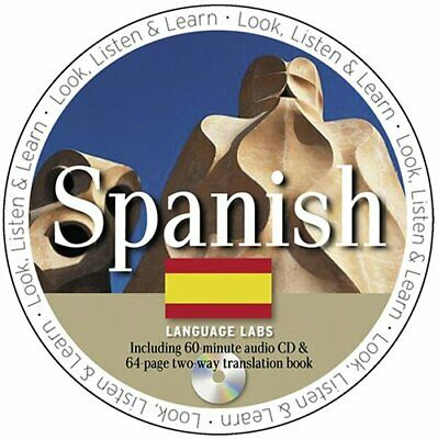 Spanish Language Lab [With Spanish Language Lab Book] (Look Listen and Lear Book