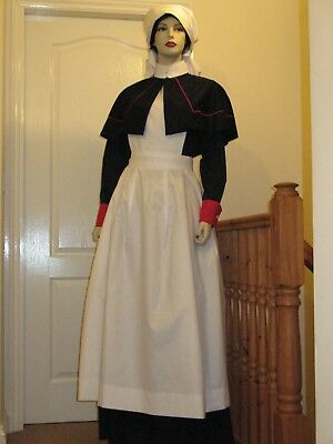 1st/2nd WORLD WAR (WWI/WWII) Q.A.R.N.N.S.  NURSE COSTUME  Approx Size  UK 08/10