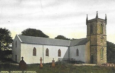 Clonmany Chapel Donegal published by J.McDonough Carndonagh
