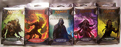 Magic The Gathering MTG DUELS OF THE PLANESWALKERS Decks All 5-New from Display