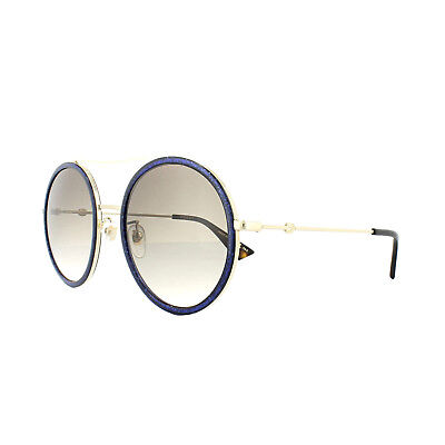 72376744ad2 GUCCI SUNGLASSES GG0061S 005 Glitter Blue Brown Gradient -  249.00 ...