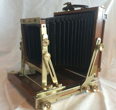 Nagaoka Seisakusho Large Format Field Camera 4x5 Wooden - lovely condition
