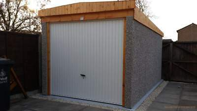 Prefab/Sectional Concrete Garage 9'5 x 16'3 North Wales Chester