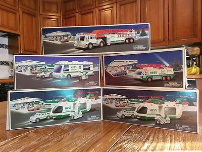 HESS Toy Trucks - Vintage - NEW IN BOX - NEVER DISPLAYED