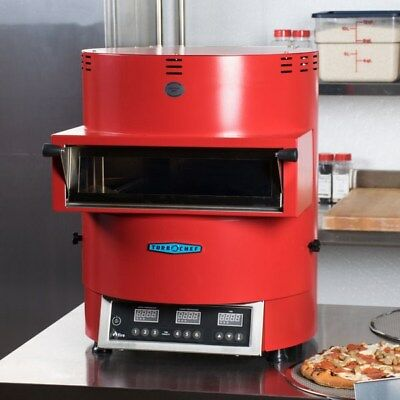 Turbo Chef Fire Red Vent less Pizza Oven