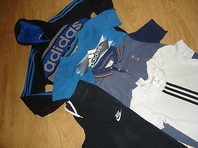 Boys  Bundle  Adidas Nike Age 7/8Yrs  Vgc