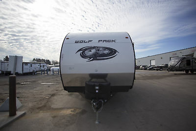 New Forest River Wolf Pack 25PACK12 Toy Hauler Travel Trailer RV w/ Rear Garage
