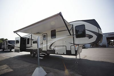 Fall/winter Super Clearance 2018 Cougar 366Rds Fifth Wheel Rear Den Luxury Rv
