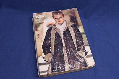 Vintage 1978 Montgomery Ward Fall and Winter Catalog