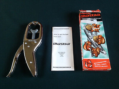 Vintage Crackerjack 3 In One Nut/lobster Claws/ice Crome Metal Crushers-Boxed