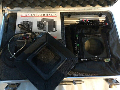 Linhof Technikardan S 4x5 Large Format Camera includes Case and bellows