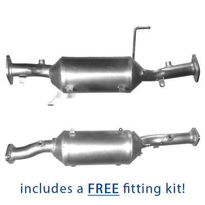 Diesel Particulate Filter DPF for Mitsubishi Shogun 3.2 Di-D + Fitting Kit