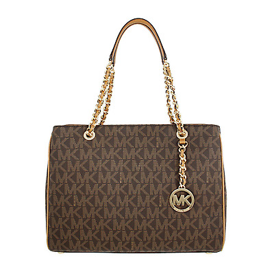 8c299335afd6 Michael Kors Susannah Ladies Large Leather Tote Handbag 35S7GAHT3B $398