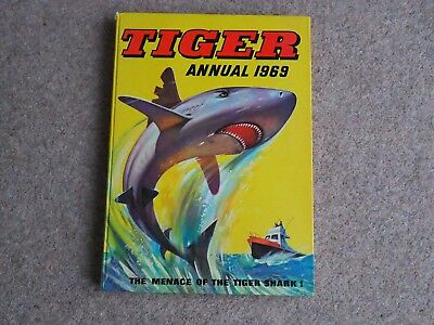 VINTAGE TIGER ANNUAL 1969 unclipped GREAT XMAS PRESENT