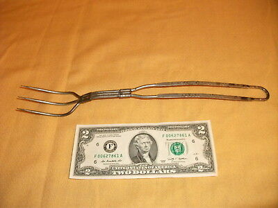 Vintage Ad Promo Carving Fork ~ Rumsford Baking Powder ~ Pilgrim Nov. Co Prov RI
