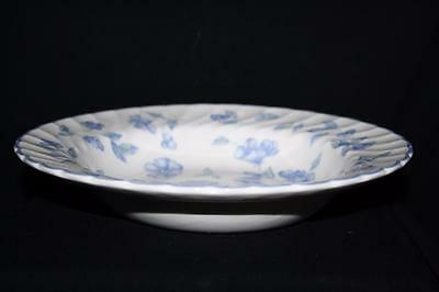 "Bhs Bristol Blue Soup Plate With Rim 9"" Diameter"