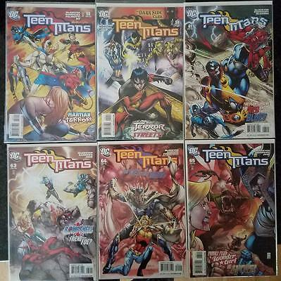 Lot of 6 Teen Titans Comic Books (2008-09)