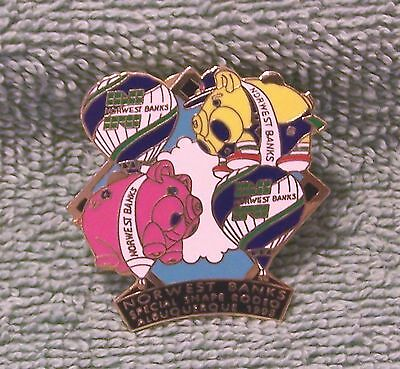 1995 Norwest Banks Special Shape Rodeo Lt Ed 962/1000 Albuquerque Balloon  Pin