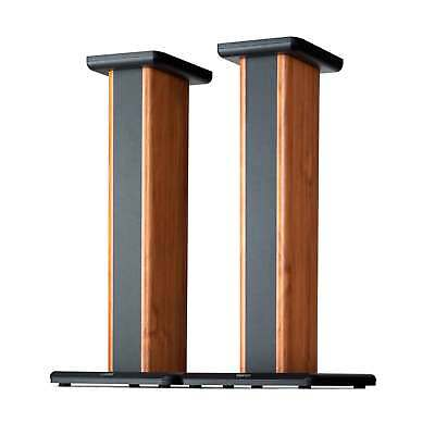 Edifier SS02 S1000DB / S2000PRO Wood Grain Speaker Stands for Home Theater