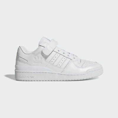 c15ad2f70d04 Adidas Originals Forum Lo Refined Triple White Strap New Classic men shoe  BA7276
