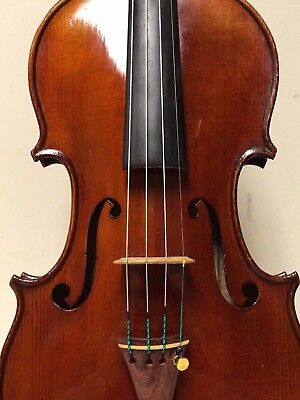 Excellent French Violin by Rene Bailly with Millant Certificate