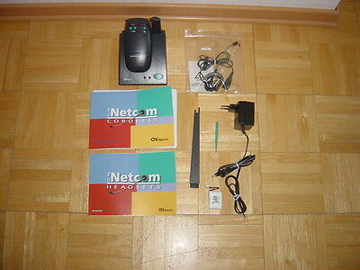 DECT Headset GN Netcom Satellite Cordless mit Anleitung