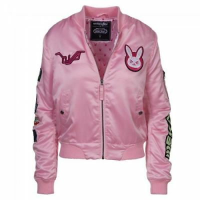 Overwatch Hana Song D.Va Patches Bomber Jacket