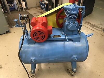 Antique Air Compressor Kellogg