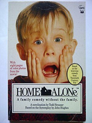 Home Alone (TV & film tie-ins) by Todd Strasser Paperback Book The Cheap Fast