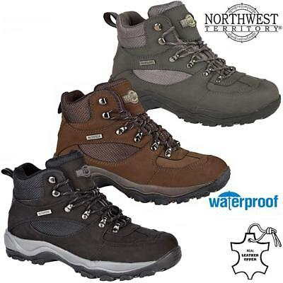 dac09a4a6d5 MENS NORTHWEST LEATHER Walking Hiking Waterproof Ankle Boots Trainers Shoes  Size