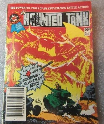 """DC Special  """"The Haunted Tank""""  Vol. 2 # 12 Aug. 1981"""