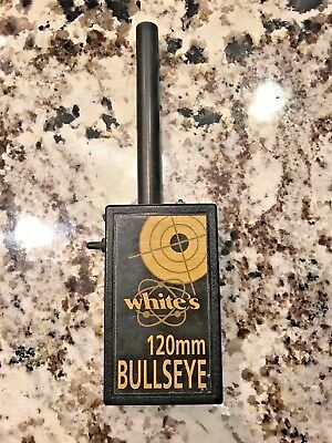 White's Pin Pointer Pinpointer Metal Detector 120mm Bulls Eye w/ Battery